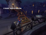 Sly Cooper and the Thievius Raccoonus PlayStation 2 Opening titles are displayed as you play through the prologue