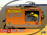Monster Truck Fury Windows Car selection screen