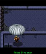 Brothers in Arms: Earned in Blood J2ME Sneakily landing with a parachute.