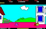 Pac-Land Amstrad CPC Round 1