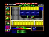 Teenage Mutant Ninja Turtles Amstrad CPC That bulldozer is about to run into you