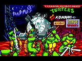 Teenage Mutant Ninja Turtles Amstrad CPC Title