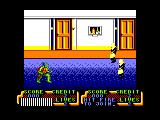 Teenage Mutant Ninja Turtles Amstrad CPC Scene 1
