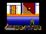 Teenage Mutant Ninja Turtles Amstrad CPC Watch out for the bomb