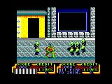 Teenage Mutant Ninja Turtles Amstrad CPC Scene 2