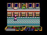 Teenage Mutant Ninja Turtles Amstrad CPC Pizza time
