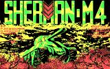 Sherman M4 DOS Title picture (CGA)