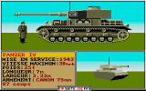 Sherman M4 DOS German tanks specifications (VGA)
