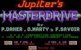 Jupiter's Masterdrive Atari ST Title screen