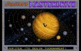 Jupiter's Masterdrive Atari ST The racing territories available