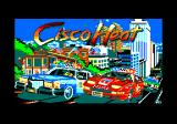 Cisco Heat: All American Police Car Race Amstrad CPC Loading screen