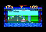 Cisco Heat: All American Police Car Race Amstrad CPC Onto the third part of the race