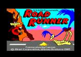 Road Runner Amstrad CPC Title screen