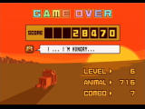 Zoo Keeper PlayStation 2 Game over...