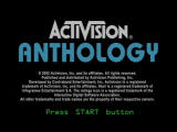Activision Anthology PlayStation 2 Title screen