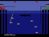 Activision Anthology PlayStation 2 Fishing Derby - compete against the CPU and a shark.