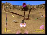 Star Wars: Super Bombad Racing PlayStation 2 Ah..the classic Pit of Carkoon 500. Races and arena battles take place in a wide variety of locales from the movies, including the dreaded Sarlacc.