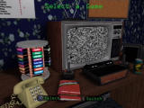 Activision Anthology PlayStation 2 Your very eighties room serves as the game's menu.