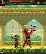Prince of Persia: The Two Thrones J2ME The first tough enemy