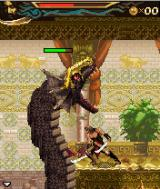 Prince of Persia: The Two Thrones J2ME This isn't a fair battle.