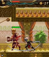Prince of Persia: The Two Thrones J2ME The dark prince can attack from a distance.