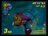 Star Wars: Super Bombad Racing PlayStation 2 Maul finds the bigger fish. And if he's not careful, it may try to eat him.