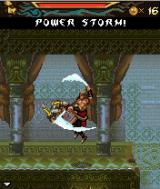Prince of Persia: The Two Thrones J2ME An upward combo with both swords.