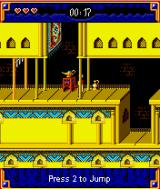 Prince of Persia: Harem Adventures J2ME The game is saved at these lamps.