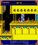 Prince of Persia: Harem Adventures J2ME Wait for these to open and then quickly run past them.