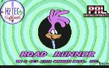 Road Runner and Wile E. Coyote Commodore 64 Title screen