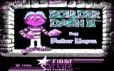 Boulder Dash II: Rockford's Revenge PC Booter Title screen