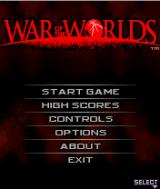 War of the Worlds J2ME Main game screen