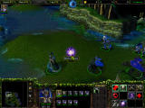 Warcraft III: The Frozen Throne Windows Runes, such as this ones provide a bonus within a localized area.