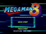 Mega Man: Anniversary Collection PlayStation 2 Mega Man 8 - Title Screen