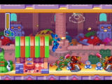 Mega Man: Anniversary Collection PlayStation 2 Clown Man's stage is full of toys