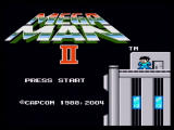 Mega Man: Anniversary Collection PlayStation 2 Mega Man 2 - Title Screen