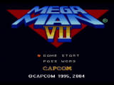 Mega Man: Anniversary Collection PlayStation 2 Mega Man 7 - Title Screen