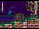 Mega Man: Anniversary Collection PlayStation 2 Shade Man's stage has references to Ghosts 'n' Goblins