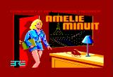 Amelie Minuit Amstrad CPC Title screen