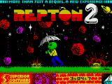 Repton Mania ZX Spectrum The Repton 2 loading screen