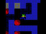 Repton Mania ZX Spectrum Teleporters (top) take Repton to different parts of the map