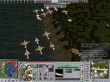 Empire Earth II Windows This is a Heavy Missile Helicopter (as shown). They are my enemies and a little to close for comfort!