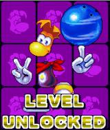 Rayman Bowling J2ME A new level unlocked.