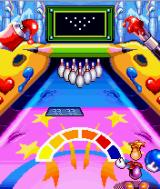 Rayman Bowling J2ME Avoid the carpet in this level.