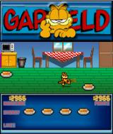 Garfield: Robocats from Outer Space! J2ME Third level, Garfield has found a broom.