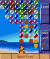 Garfield: The Bubble J2ME Game over