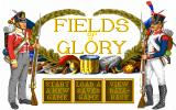 Fields of Glory DOS Main menu