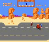 Road Runner NES Road Runner gets hit by a red truck