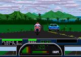 Road Rash II Genesis Downhill section in Hawaii