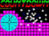 Countdown ZX Spectrum Title screen (TV Games release)